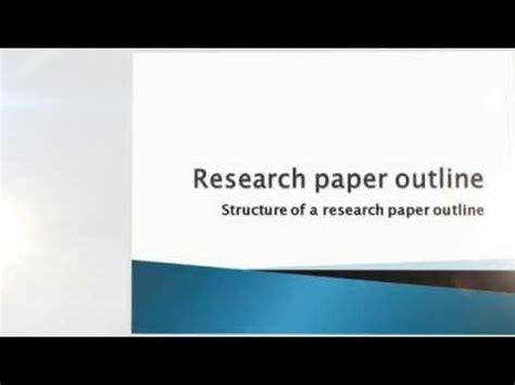 How to Write a Research Paper - EssayEmpire